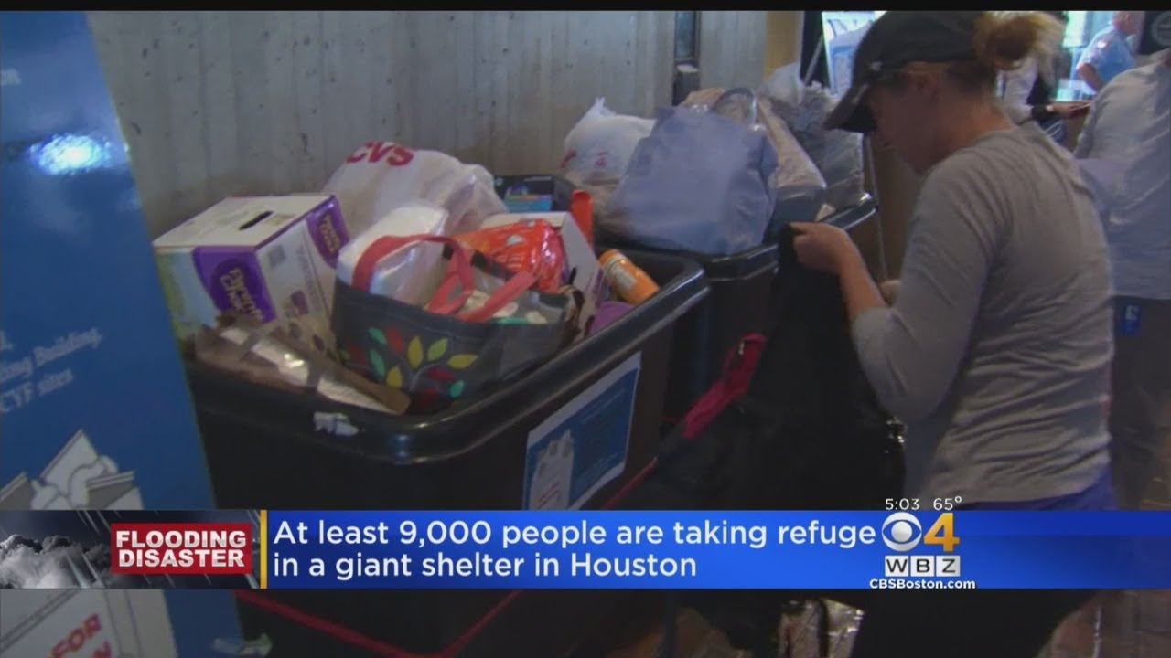 Donations Pour In To Help Houston's Hurricane Victims