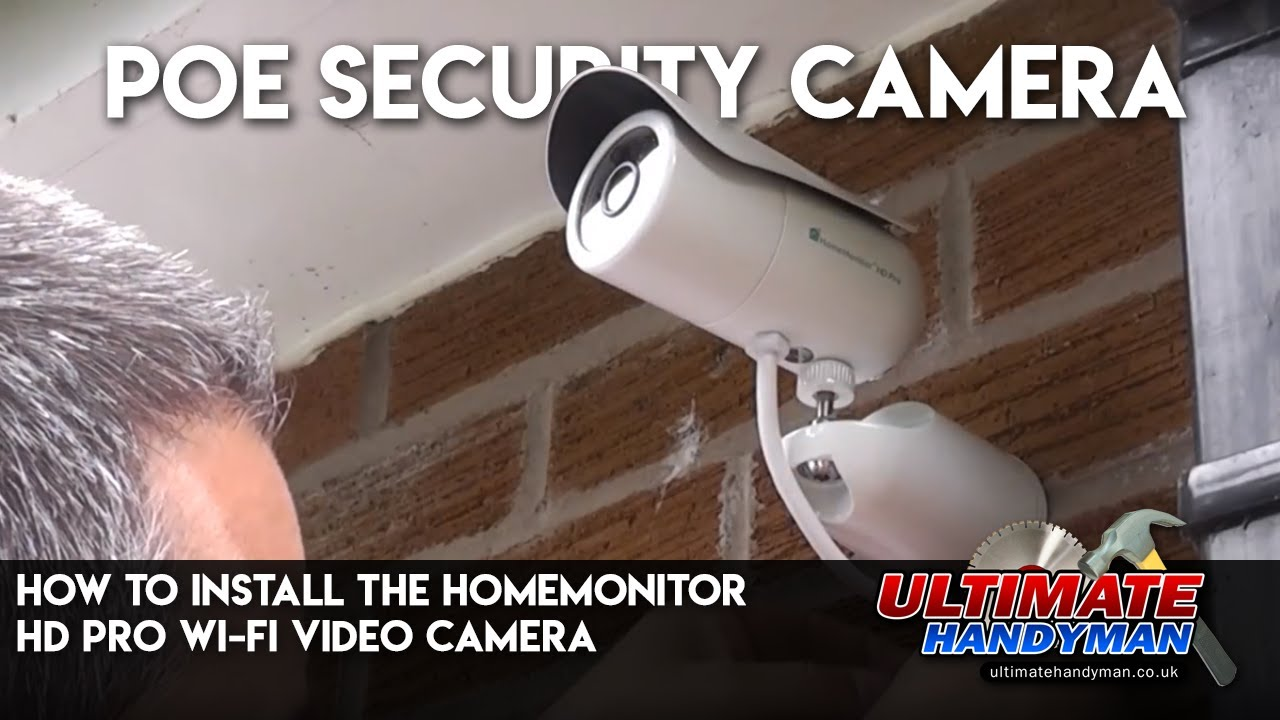 How To Install The Homemonitor Hd Pro Wi Fi Video Camera