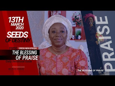 Dr Becky Paul-Enenche - SEEDS OF DESTINY - FRIDAY, 13 MARCH, 2020