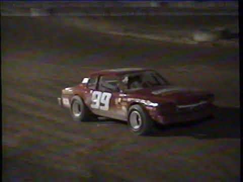 Hidden Valley Speedway August 14th, 1993 Street Stock Feature - dirt track racing video image