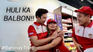NAHULING Naglalandian Sa TRABAHO | #BaninayTries To Be 7-Eleven Crew For A Day
