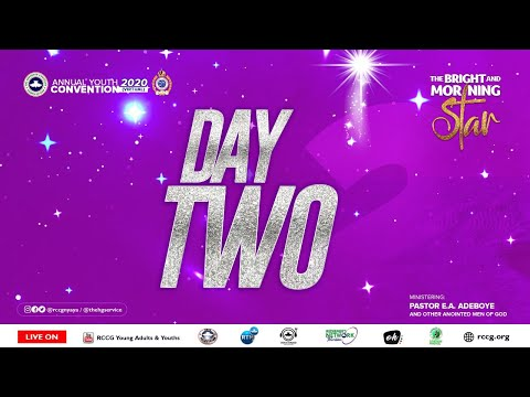 DAY 2 RCCG YOUTH CONVENTION 2020 - PLENARY SESSION 2