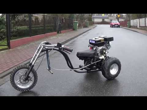 125cc BIG WHEEL DRIFT TRIKE BUILD PROJECT | Racer lt