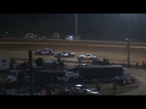 Stock V8 at Lavonia Speedway July 2nd 2021 - dirt track racing video image