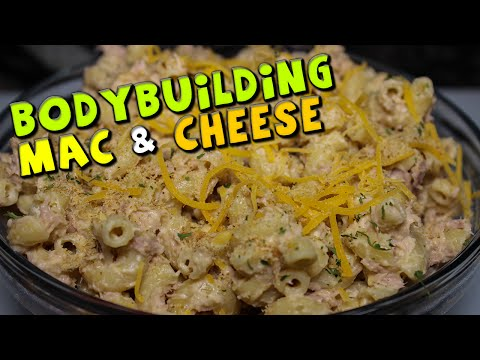 Bodybuilding Mac & Cheese Recipe (Healthy + High PROTEIN)