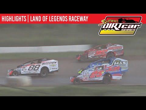 Super DIRTcar Series Big Block Modifieds Land of Legends Speedway August 4, 2021   HIGHLIGHTS - dirt track racing video image