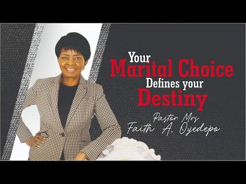 Your Marital Choice Defines your Destiny