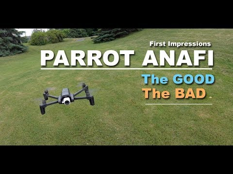 Anafi Drone from Parrot: Flight Testing | AudioMania lt