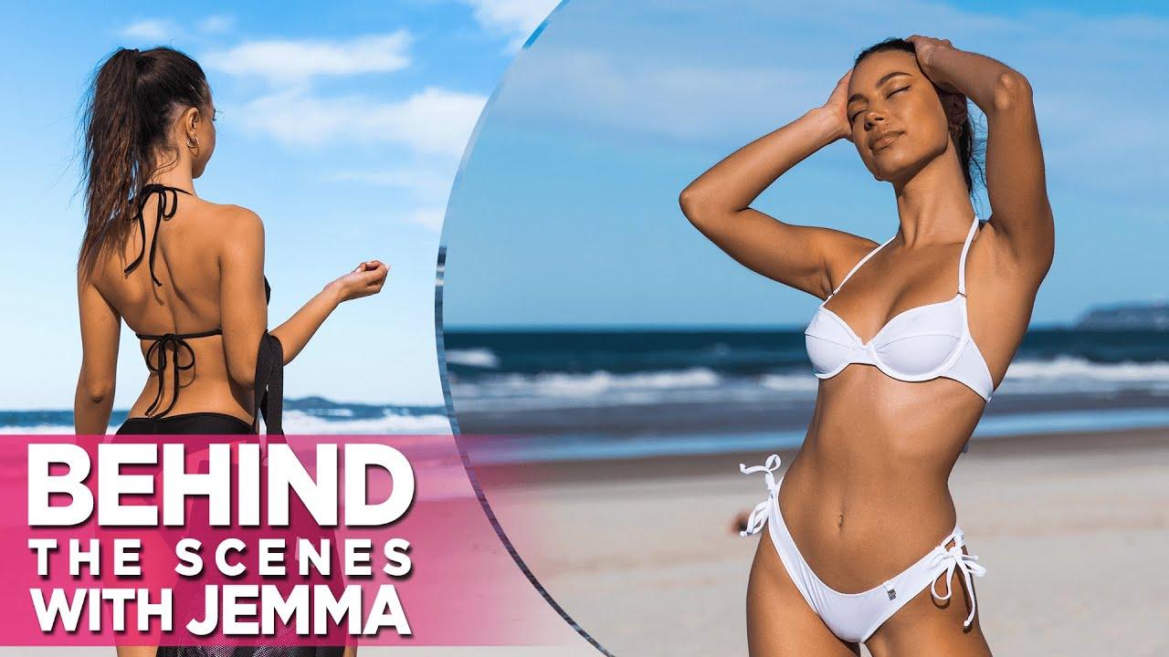 Sexy Jemma BTS: Darling Of The Crowd Wears Wicked Weasel Bikinis!