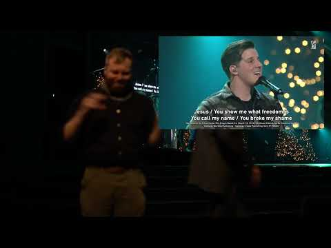 Gateway Church Live  Highly Favored by Pastor Robert Morris  ASL Interpretation