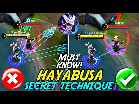 All Hayabusa Players Must Know About This Secret Technique! | Mobile Legends - UC-9K1V8pkUrhvVYP5AfaJhA