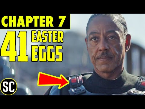 Mandalorian Chapter 7: Every Star Wars EASTER EGG, Reference, and Connection