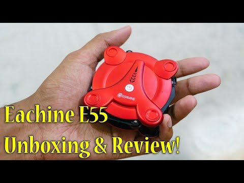 Selfie Drone for 2000Rs?? Eachine E55 Foldable Drone Review - UCUMVRo_qY2RKrEweB9rCv6g