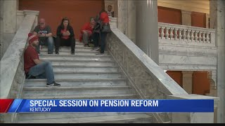 Gov. Bevin calls special session to address 'pension crisis'