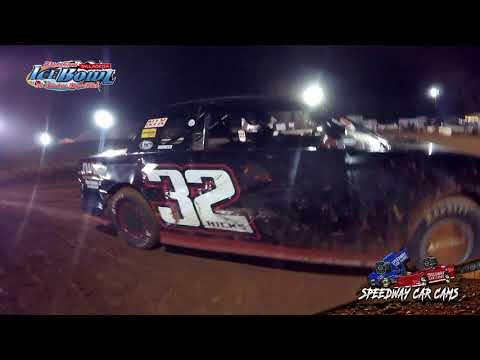 #32 Dewayne Hicks - Factory Stock - Ice Bowl 2021 - Talladega Short Track - In-Car Camera - dirt track racing video image