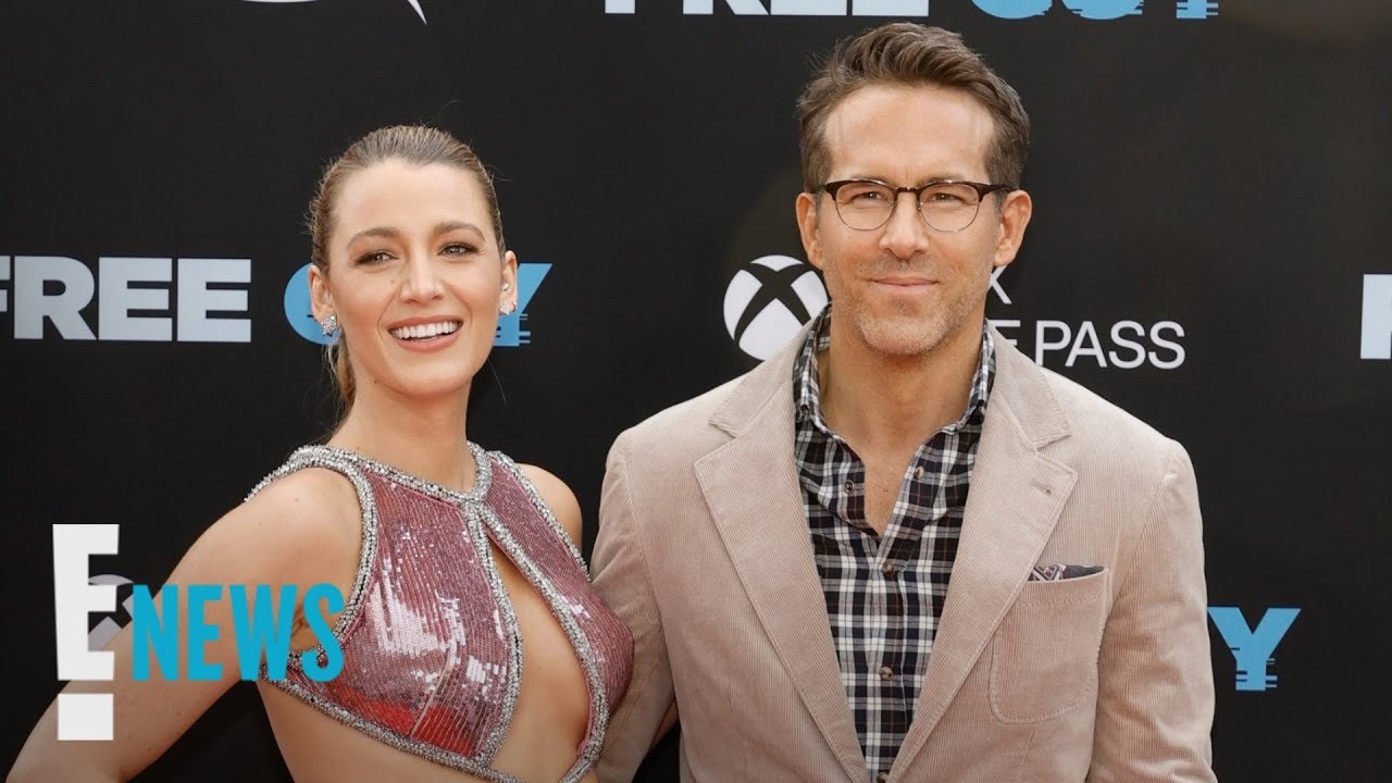 Blake Lively Trolls Ryan Reynolds After His Major Career News | E! News