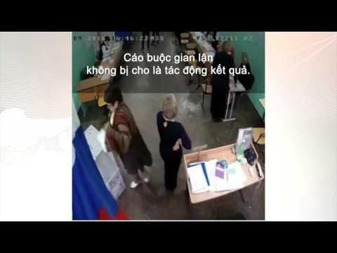 Cáo buộc gian lận ở bầu cử Nga