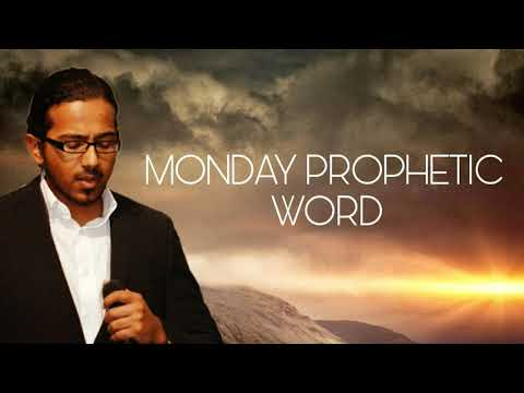 IT'S A TIME TO MOVE FORWARD, Monday Prophetic Word with Ev. Gabriel Fernandes
