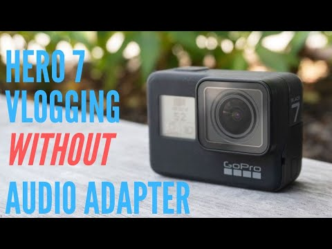 Here is howto moto Vlog on GoPro HERO 7 without a mic adapter.