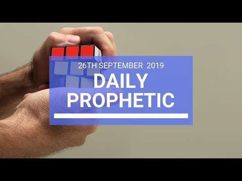 Daily Prophetic 26 September 2019   Word 2