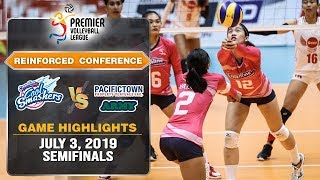 Creamline vs. PacificTown-Army - July 3, 2019   Game Highlights   #PVL2019