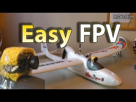Multiplex Easystar 2 - most simple FPV plane - Setup, Tips, many flights, chase of other planes - UCIIDxEbGpew-s46tIxk5T3g