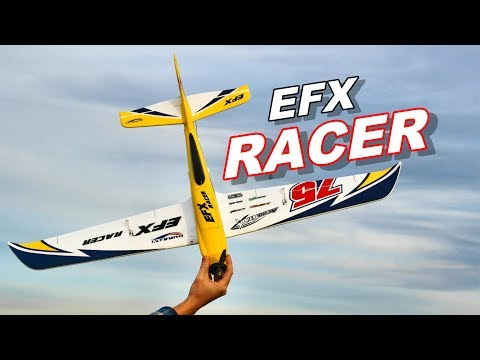 Durafly EFX Racer High Speed / Performance Sports RC Plane - TheRcSaylors - UCYWhRC3xtD_acDIZdr53huA