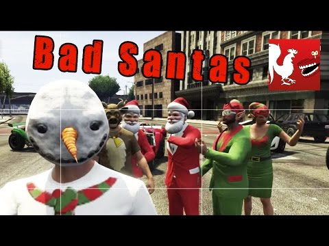 Things to Do In GTA V - Bad Santas | Rooster Teeth - UCzH3iADRIq1IJlIXjfNgTpA