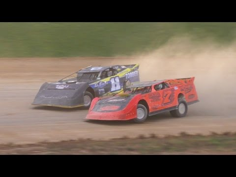 Crate Late Model Feature | Thunder Mountain Speedway | 10-9-16 - dirt track racing video image