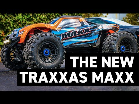 TRAXXAS MAXX!!! - The 4S 60+MPH RC Monster Truck
