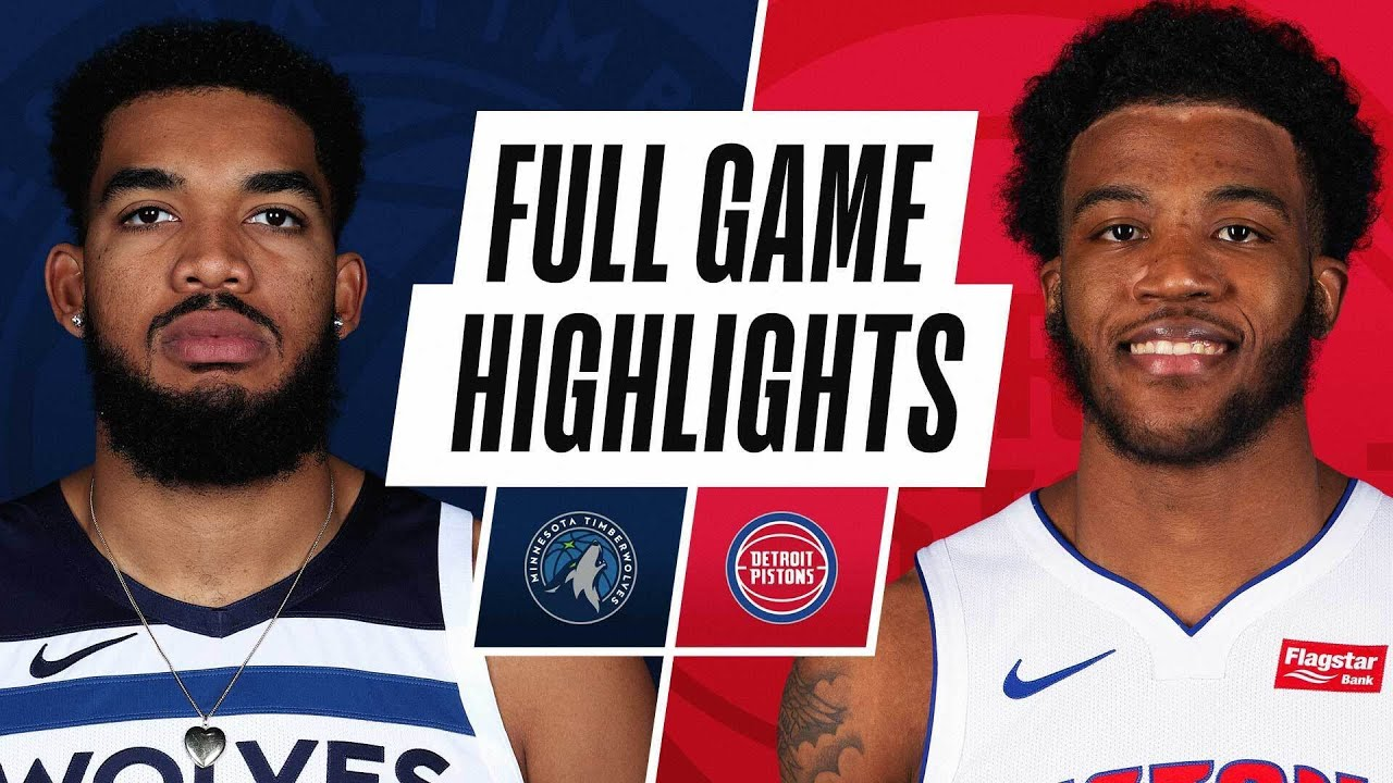 TIMBERWOLVES at PISTONS | FULL GAME HIGHLIGHTS | May 11, 2021