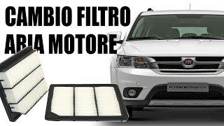 Come smontare filtro aria Fiat Freemont