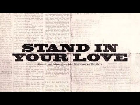 Stand In Your Love (Official Lyric Video) - Bethel Music  VICTORY