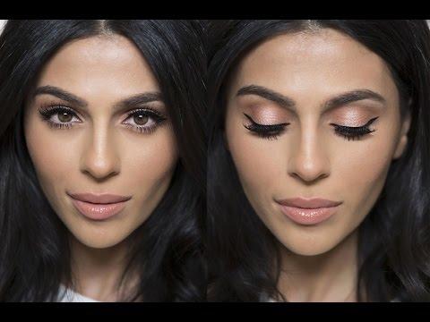 Peach Shimmer Makeup Tutorial | Natural Makeup Tutorial | Teni Panosian - UCojExR87u5xNXSkrJ26ORMA
