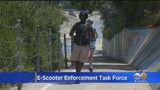 LAPD Launches Task Force To Crack Down On Scooters