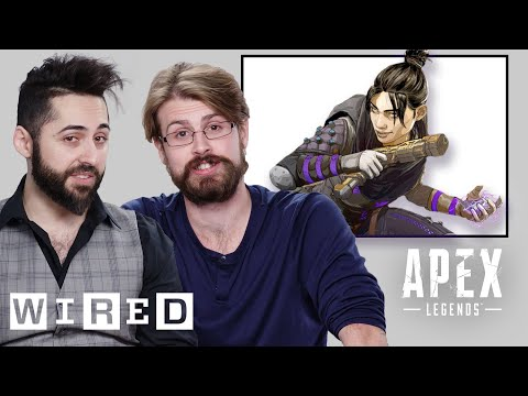 Every Legend in Apex Legends Explained By Respawn | WIRED - UCftwRNsjfRo08xYE31tkiyw