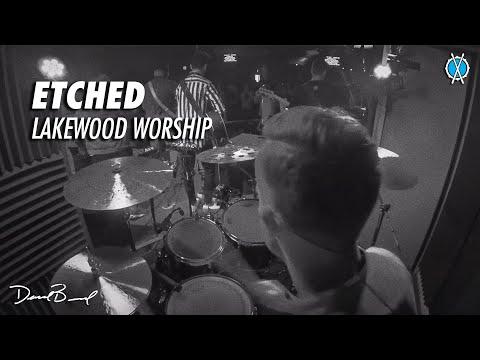Etched Drum Cover // Lakewood Worship // Daniel Bernard