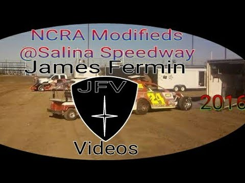 NCRA Modified Feature #4, Salina Speedway - dirt track racing video image