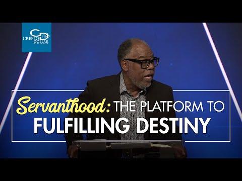 Servanthood The Platform to Fulfilling Destiny - Wednesday Service
