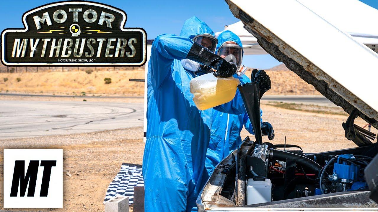 Leak in the Radiator | Motor MythBusters | MotorTrend