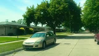Driving to Detroit, Michigan from Warren, Michigan