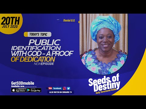Dr Becky Paul-Enenche - SEEDS OF DESTINY - MONDAY JULY 20, 2020