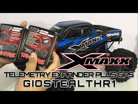 TRAXXAS X-MAXX UPGRADE TELEMETRY EXPANDER PLUS GPS 4K - UCYNx2Pa6IBQ9ajOLvWj_GKA