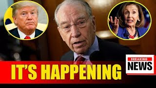 DEMS COVER UP & START CRYING WHEN REP. GRASSLEY ABSOLUTELY DESTROYED THEM OVER TRUMP'S TAX RETURNS