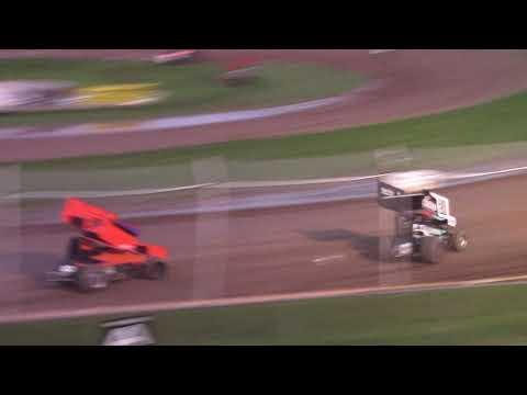8/28/21 MSA Sprint Car B-Main Beaver Dam Raceway - dirt track racing video image