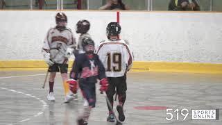 Minor Lacrosse (Peewee Two) - Guelph Regals vs K-W Braves