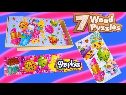 New Shopkins Season 1 7 Wood Puzzles Box Set Surprise Littlest Pet Shop Blind Bag Unboxing Toy Video - UCelMeixAOTs2OQAAi9wU8-g