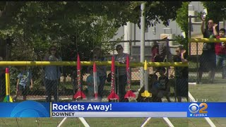 Future Scientists, Explorers Get Free Model Rockets At Columbia Memorial Space Center