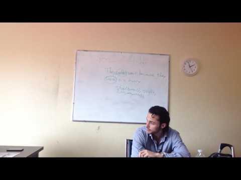 OTP English Lesson - Richard - Activate Phase - Worksheet Discussion V