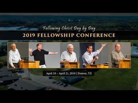 Following Christ Day by Day  2019 Fellowship Conference Trailer